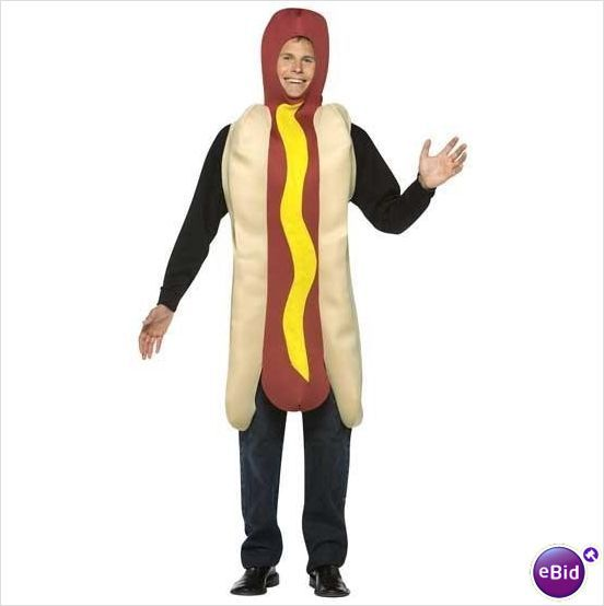 Hot Dog Fancy Dress Outfit Chest upto 46 on eBid United Kingdom