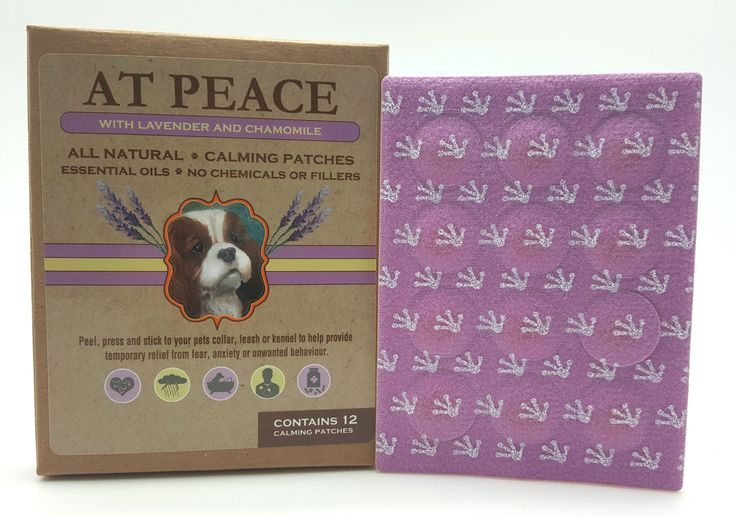 Aromatherapy Pillow Pet : At Peace Calming Aromatherapy Patches - Noble Pet Company aromatherapy for pets Pinterest ...