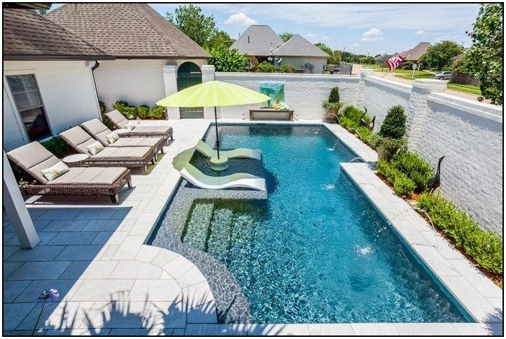 40 Small Backyard Pool Landscaping Ideas On A Budget Beautiful Layout Page 24 Point Backyard Pool Landscaping Backyard Pool Designs Swimming Pools Backyard