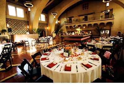LA Union Station - $6000+ for space only, http://www.hollywoodlocations.com/wp-content/uploads/2012/08/Union-Station-Private-Events-Rates-and-Fees-Information.pdf