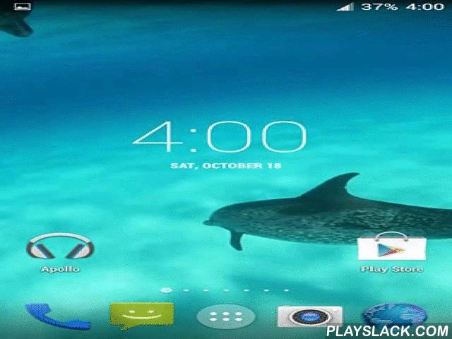 Dolphins HD  Android App - playslack.com , Dolphins HD - shoal of dolphins gracefully swimming under the water. Enjoy exciting show and feel the elegance of the nature acknowledgments to the practical graphics of these distinctive live wallpapers.