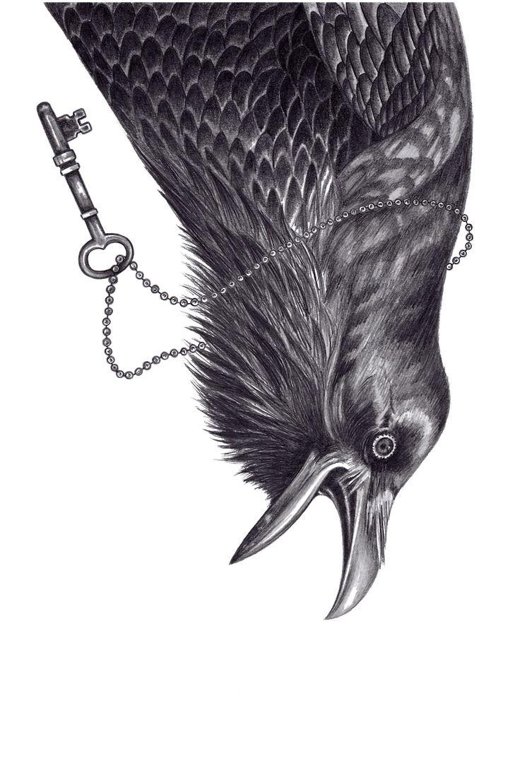 Raven by Andrea Hrnjak