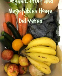 Organic Fruit and Vegetables Home Delivered $60 Weekly Subscription