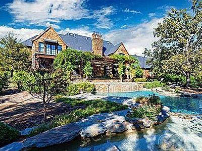 12780 Hilltop Rd, Argyle, TX 76226  And a backyard retreat (pool)