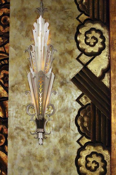 Sconce...Paramount Theater, Oakland, CA