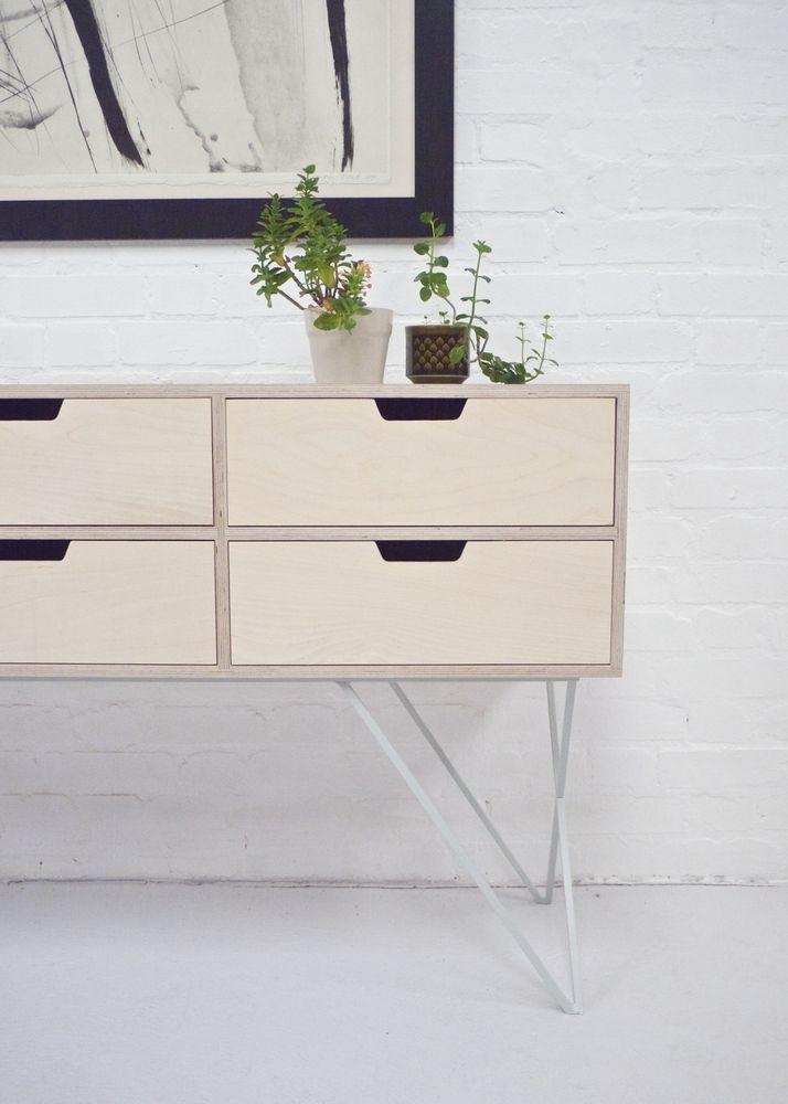 Leonard Sideboard in Pale Grey