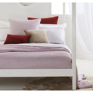 Red Marko Coverlet