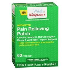 Walgreens Medicated Pain Relief Patches - 60 ea