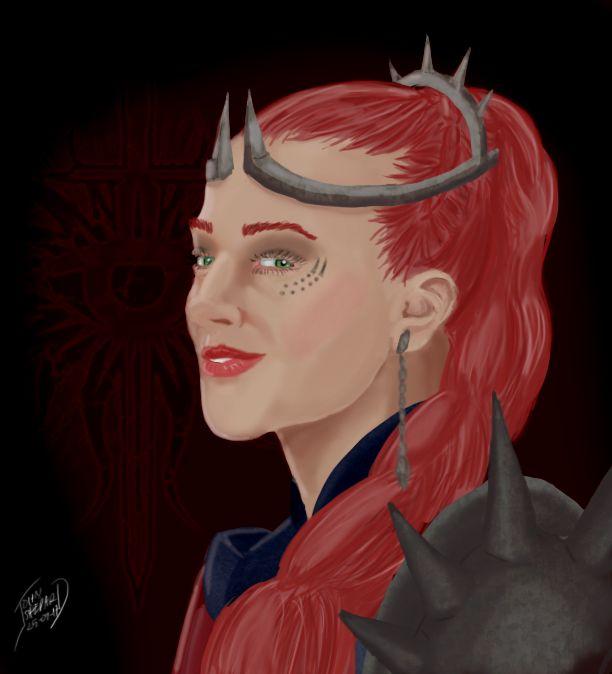 Isobel Trevelyan, OC by Captain Ceranna
