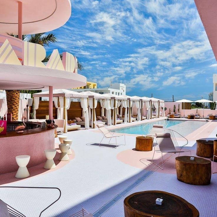 A millennial pink artfilled hotel opens in
