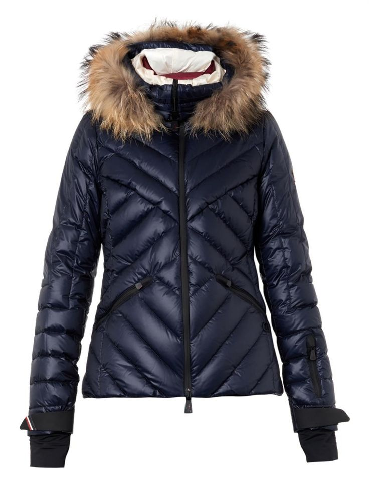 Makalu fur-trimmed quilted down jacket | Moncler Grenoble | MATCHESFASHION.COM US