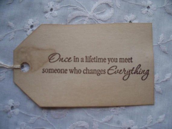 Once In A Lifetime Wish Tree Wedding Tags Wishing by packratdiva