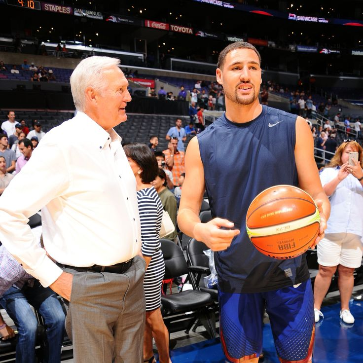 Klay Thompson for the 2016 Men's Olympic Basketball Team USA