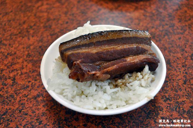 誘人的三層肉   阿讚豬腳爌肉專賣店