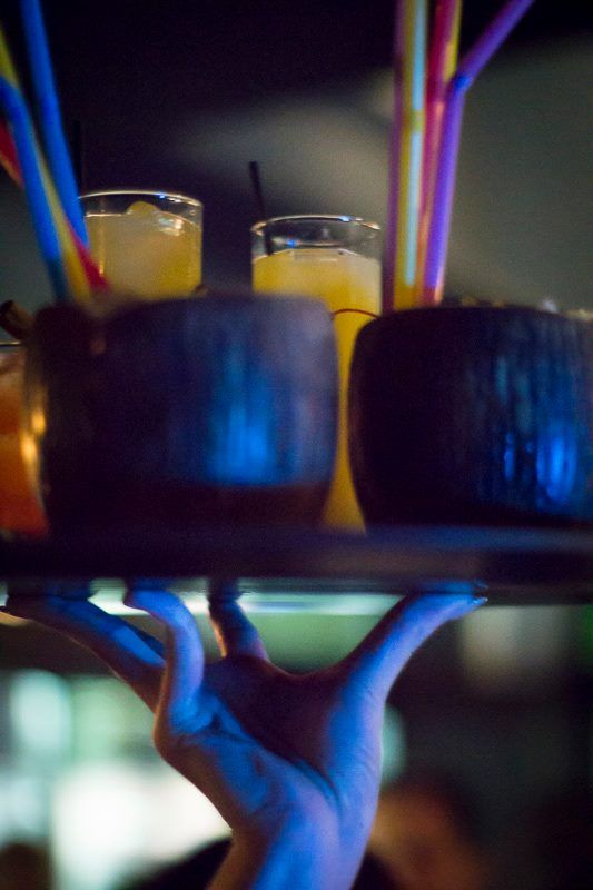 Cadillac Records Bar,  #cocktails #tiki #glasses #bar #karditsa