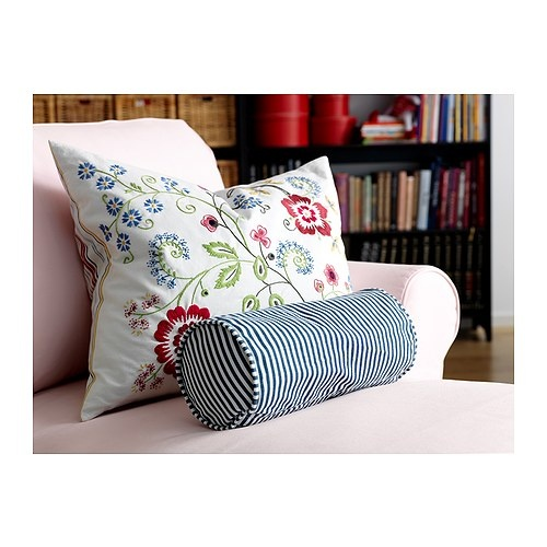 ALVINE FLORA Cushion IKEA Embroidered with yarn in different colours; adds life and texture to the cushion cover.