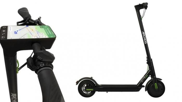 Electric scooter Archos: City Scooter with Android 8   On the Handlebars of the Archos Citee a five-inch Touchscreen with Android 8.  (Image: Archos)   Budget electronics manufacturer Archos has unveiled three new City-Scooter with electric drive. The most expensive model for 500 Euro is equipped with a five inch large touch screen and Android 8.   At first glance the difference between the Citee called scooter from the French manufacturer Archos  not from other City-scooters. The summer for…