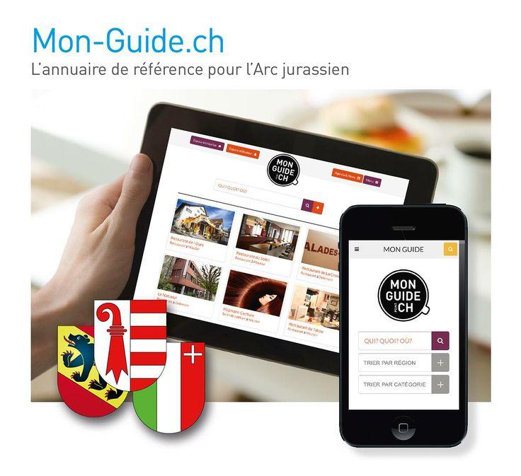 Mon-Guide.ch - Annuaire et Agenda pour l'Arc jurassien