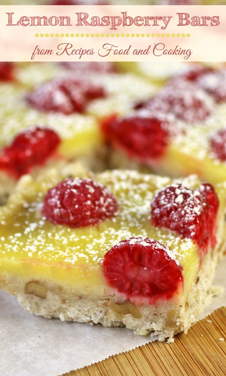 Best 25+ Raspberry bars ideas on Pinterest | Rasberry ...