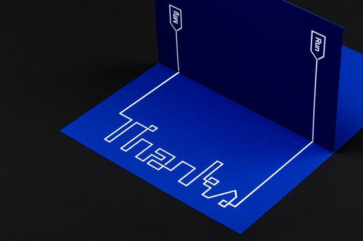 Run Mfg by Perky Bros, United States. #branding #print