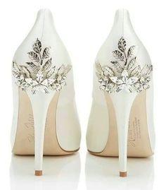 zapatillas para novia con cristal
