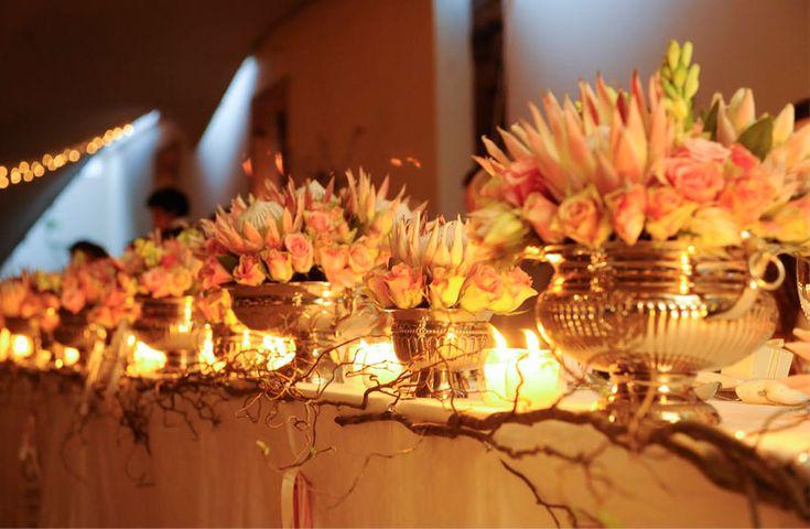 Bouquet Bar: Protea Flowers - Exquisite Weddings