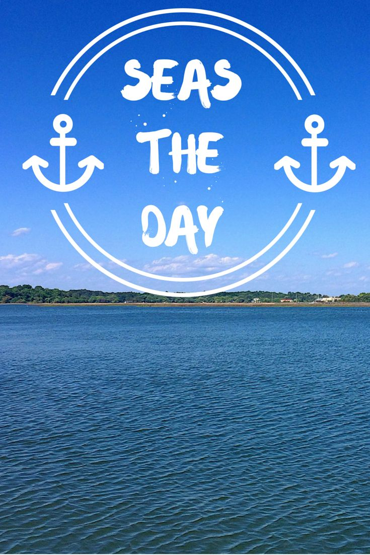 SEAS the day! #beach #ocean #quotes