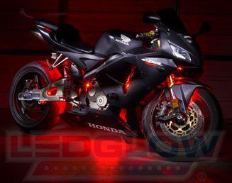 Image via  LED lights on bike   Image via  10 amazing world: LED Lights for Motorcycles   Image via  Motorcycle Accent LED Lights | Super Bright LEDs   Image via  2009 Hayabusa with
