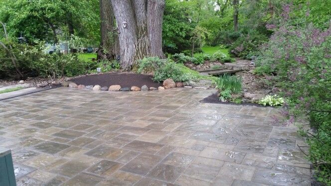 Unilock Beacon Hill Flagstone Paver In Bavarian Blend