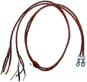 Check out the deal on Leather Braided Split Reins at Chicks Discount Saddlery