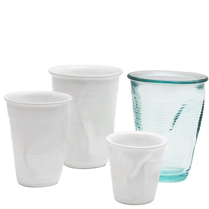 A+R Store - Crushed Crinkle Cups + Glasses - Product Detail