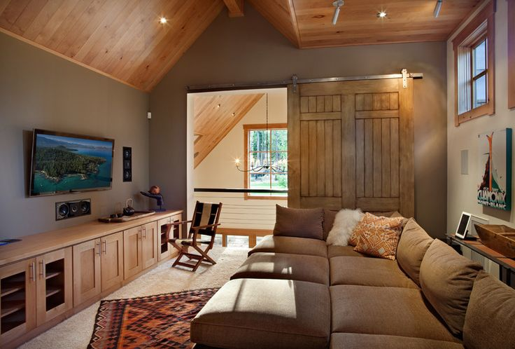 """9. If you can, put the TV in its own room. Rather than letting the TV take center stage in an open-plan living space, consider moving it into a separate space. Not having the TV in the main living space makes it easier to avoid turning it on """"just because."""""""
