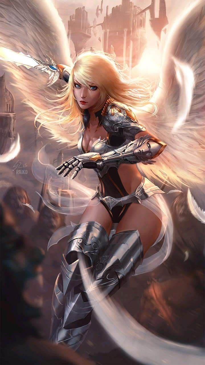 Fantasy Art Angel Girl