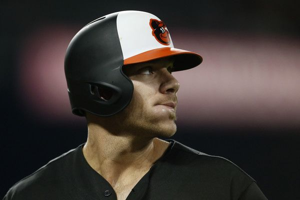 Chris Davis Photos Photos - Chris Davis #19 of the Baltimore Orioles looks on against the Boston Red Sox in the eighth inning at Oriole Park at Camden Yards on April 21, 2017 in Baltimore, Maryland. - Boston Red Sox v Baltimore Orioles