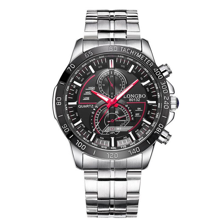 LONGBO 80132 Men Watch Stainless Steel Luminous Fashion Casual Quartz Wrist Watch at Banggood  #women #men #fashion #jewelry #watches