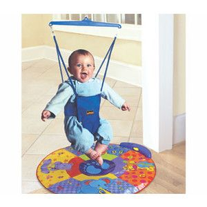 Looking at 'Jolly Jumper with Play Mat' on SHOP.CA