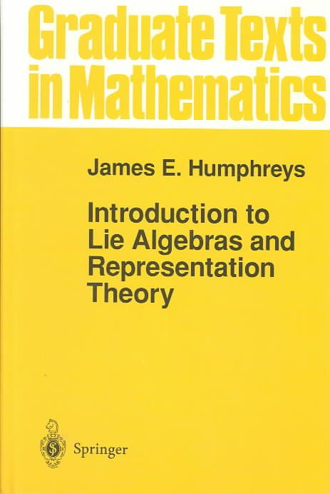 Precision Series Introduction to Lie Algebras and Representation Theory