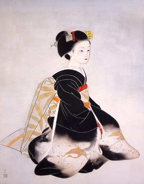奥村 土牛 舞妓
