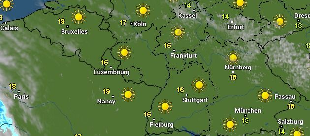 14-Tage-Wetter Dietzenbach - WetterOnline