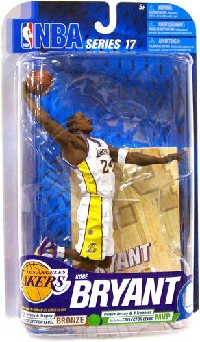 "McFarlane Toys NBA Sports Picks Series 17 Kobe Bryant by McFarlane Toys. $39.99. Feature Several Points of Articulation. Comes with Ball and Base. Finely Sculpted for Authenticity. Figure stands at 6"" tall. Photorealistic Representation of Star Athlete. From the Manufacturer                McFarlane Toys NBA Sports Picks Action Figures Bring Every Detail of Your Favorite NBA Superstars to Life. Sculpted in 6-Inch Scale and Game-Accurate in Every Detail, Sports Picks are a ..."