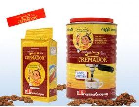 Ground 'Cremador' coffee in vacuum-sealed can, Passalacqua