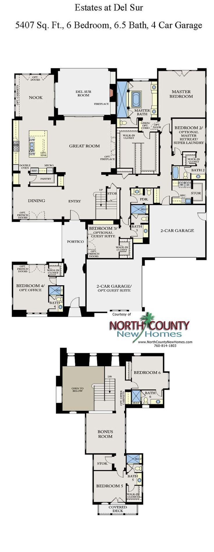 308 best new home floor plans in north county san diego images on the estates at del sur new homes floor plan new homes in san diego single story homes
