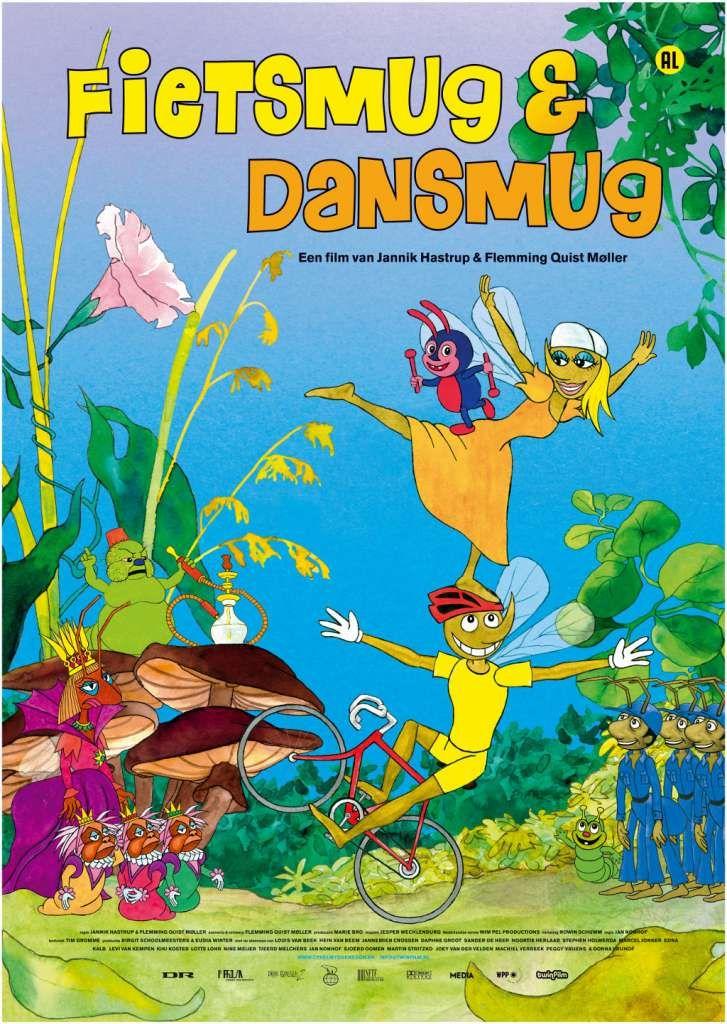 Dagmar de Dansmug is verliefd op Egon de Fietsmug. Maar Egon wil nog van zijn vrijheid genieten en de wijde wereld intrekken. Dan verovert Dominella, de gemene koningin van de rode mieren, de kolonie van de zwarte mieren. Ze neemt de macht op de bosbodem over. Herstellen Dagmar en Egon samen de vrede in de insectenwereld? Een film met veel muziek en humor!
