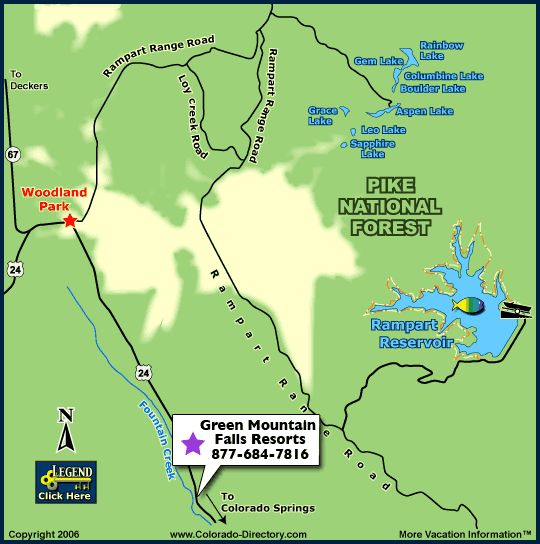Rampart reservoir fishing map co fishing maps for Fishing colorado springs