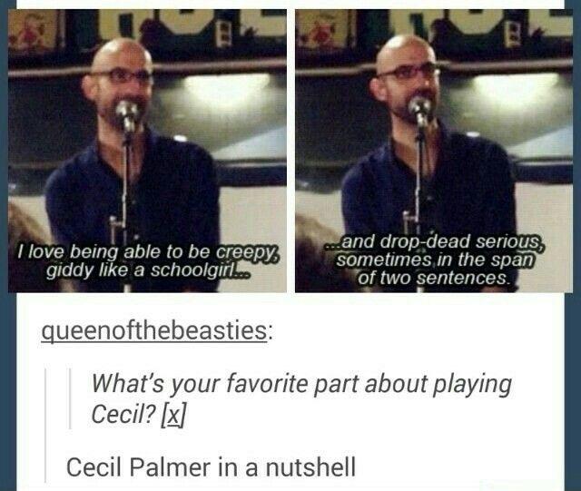Cecil Baldwin on Cecil Palmer