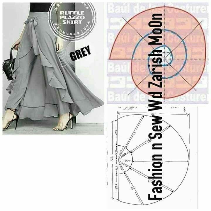 Pantalon skirt