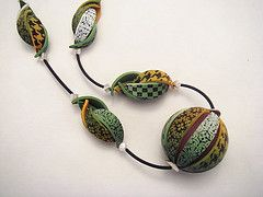 Polymer Clay Necklace | da Carina's Photos and Polymer Clay