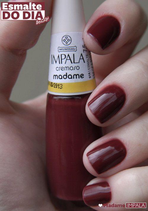 Esmalte do dia: Madame, Impala
