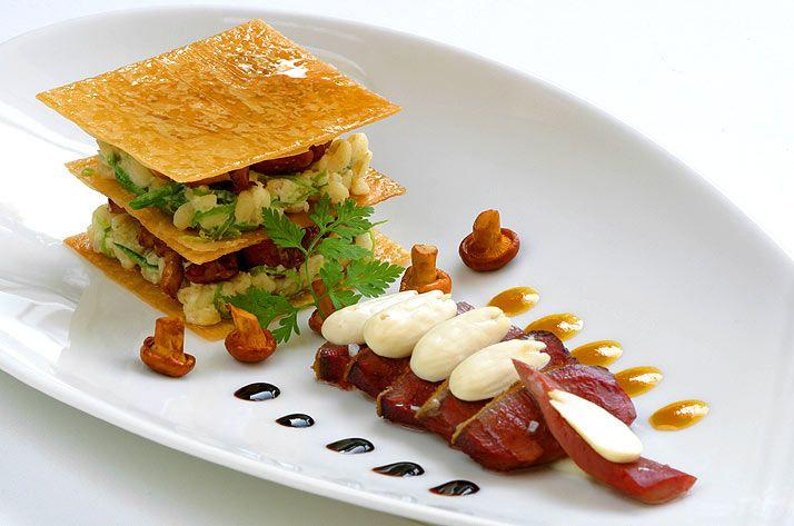 Restaurant cuisine pourcel le jardin des sens h tel for Au jardin des gourmets