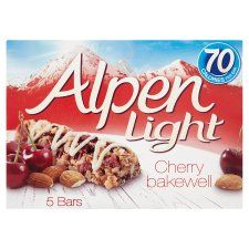 Alpen Light Bar Cherry Bakewell 5 Pack - Groceries - Tesco Groceries